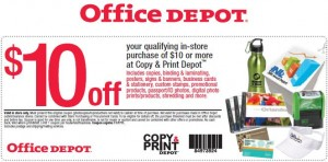 Office Depot allows new and old customers alike to save on office essentials and services, such as mounting services and free online shipping. Saving opportunities with Office Depot Coupons include free ink and toner, 20% off your total purchase, 50% off custom stationery, and so much more.5/5(1).