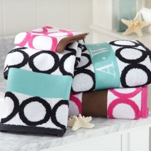PB Teen towels