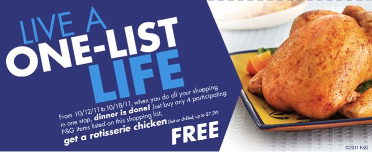Publix PG Chicken Deal