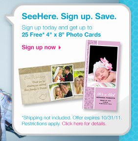 SeeHere Photo Cards