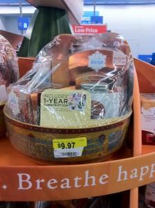 Walmart gift basket