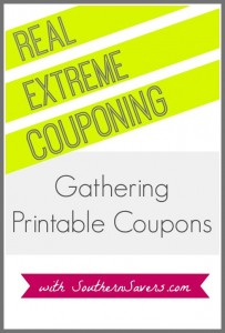 Trying to save money?  Learn the Real Extreme Couponing!  Here's what you need to know about gathering printable coupons to live frugal.