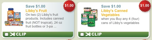 libbys canned vegetables coupons