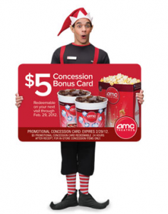 AMC bonus card