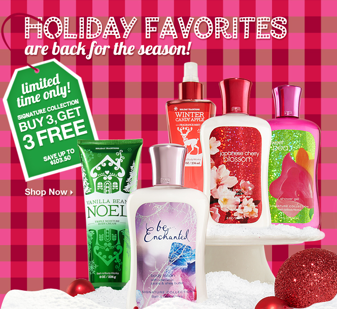 Bath   Body. Bath and Body Works  Buy Three Get Three and Coupon    Southern Savers