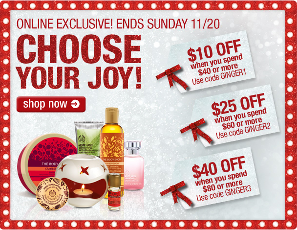 Body shop india discount coupons