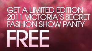 Victoria Secret free panty