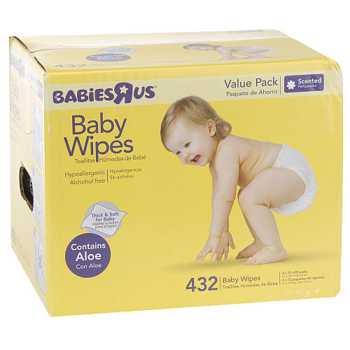 ToysRUs.com: BabiesRUs Baby Wipes, 432 Ct. For $5