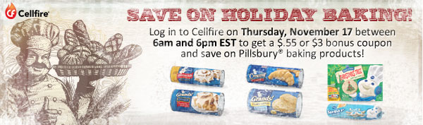 Cellfire Baking Coupon