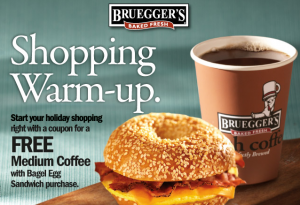 Bruegger's coupon