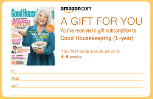 Good Housekeeping on Recyclebank