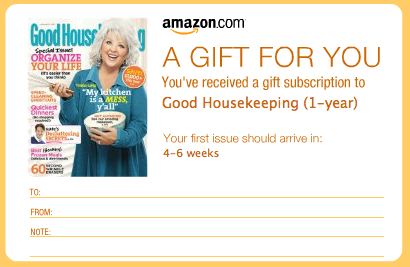 Good housekeeping coupons