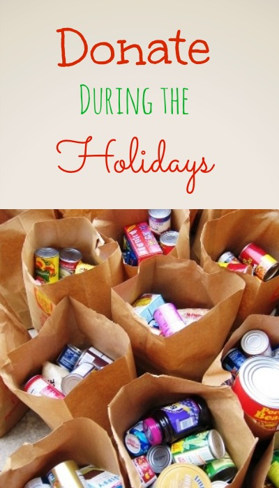 Take time for food bank donations during the holiday