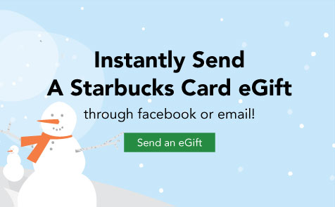 Limit 1 per person. Valid in the US only. Redeem Groupon voucher for a Starbucks eGift Card that can be used in participating Starbucks stores.