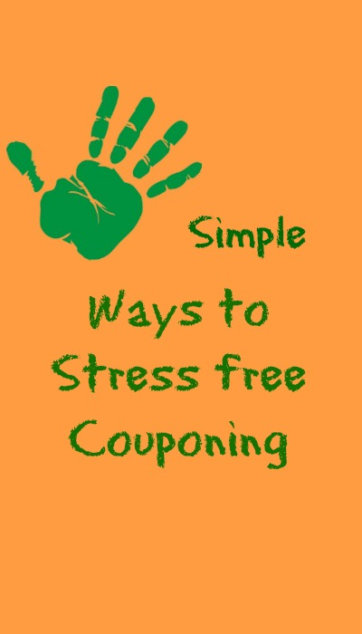 5 simple ways to stress free couponing