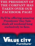 Value City Furniture Coupon