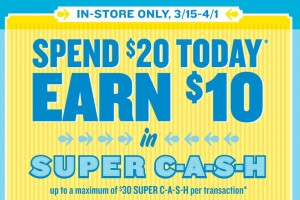 Old Navy super cash