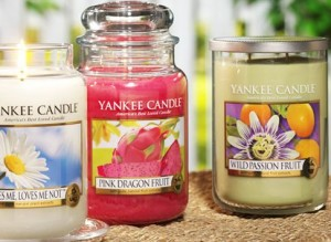 Yankee Candle jar candles