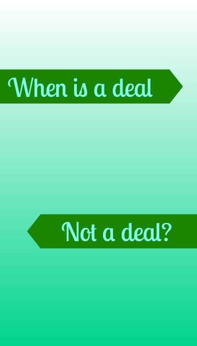 when is a deal not a deal?, southern savers