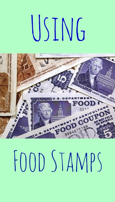 question from our reader, how to use food stamps and coupons