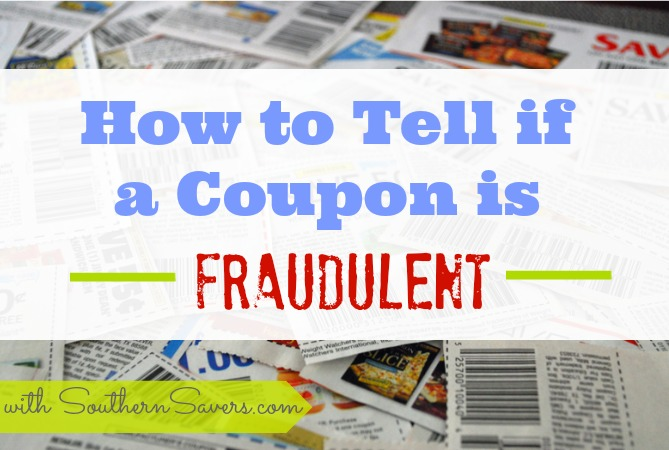 See some tips on how to spot fraudulent coupons.  Just a few bad couponers can ruin it for everyone. / / Frugal Living