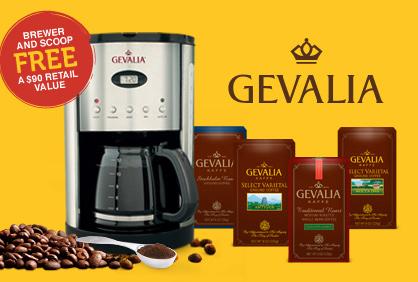 Gevalia Coffeemaker & 4 Boxes of Coffee or Tea, $25.94 Shipped :: Southern Savers