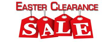 easter clearance sales