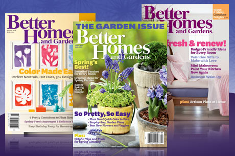 better homes and garden magazine deal