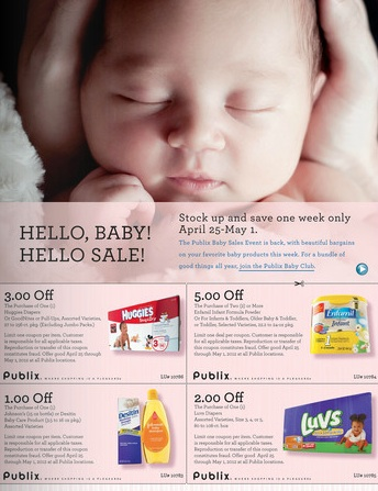 New Publix Coupon Flyer Hello Baby Hello Sale  Southern Savers