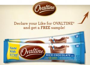 Ovaltine freebie