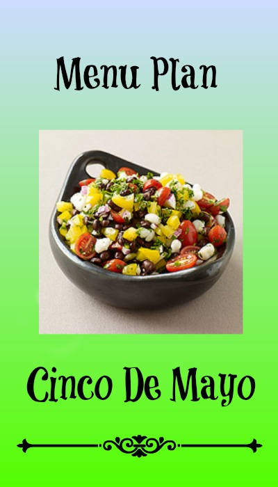 cinco de mayo menu plans