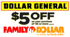Dollar General Family Dollar 5 Off 25 Printable Coupons Southern Savers