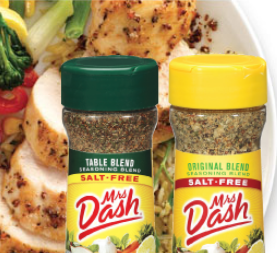 Mrs. Dash freebies