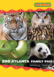 Image result for zoo atlanta family pass