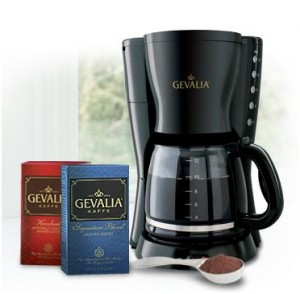 Gevalia Coffee Maker Offers : Gevalia Coffee: Coffeemaker & 4 Boxes Of Coffee USD 9.99 Shipped! Frugal Twenties