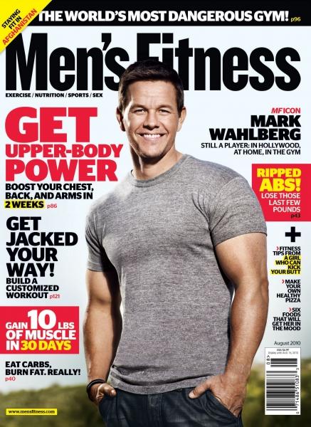 Men's Workout Magazine August 2004