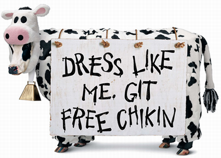 chick fila cow appreciation day