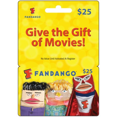 Get A 25 Fandango Gift Card For 19 From Target If You Are REDcard Holder They Running Special Where Cards 20