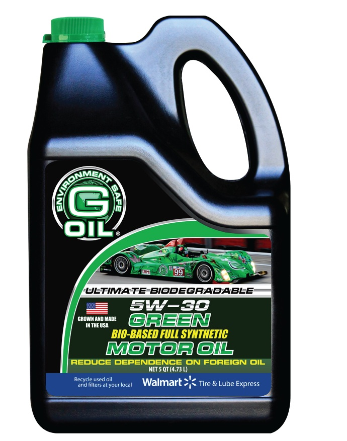 Free G Oil Green Motor Oil After Mail In Rebate