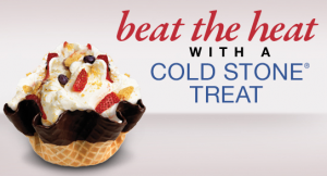 Coldstone coupon