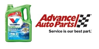 advance auto parts motor oil rebate