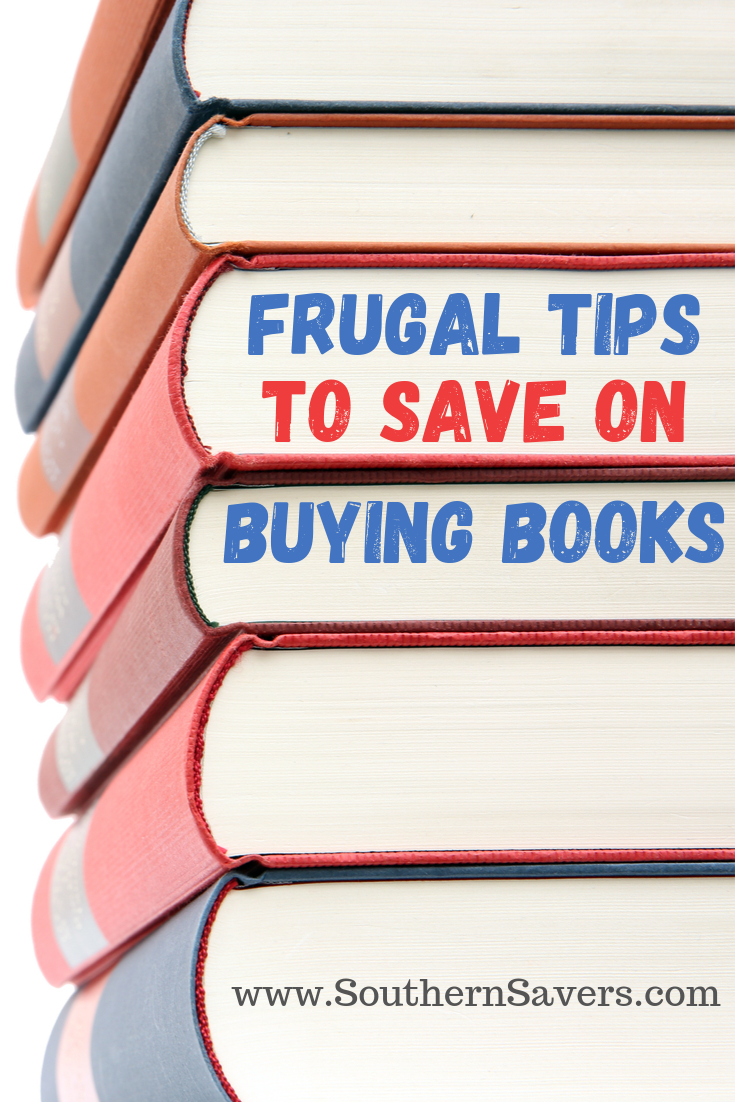 If you're a book lover, then you know buying books can quickly sink your budget—but it doesn't have to. Check out my frugal tips to save on buying books!