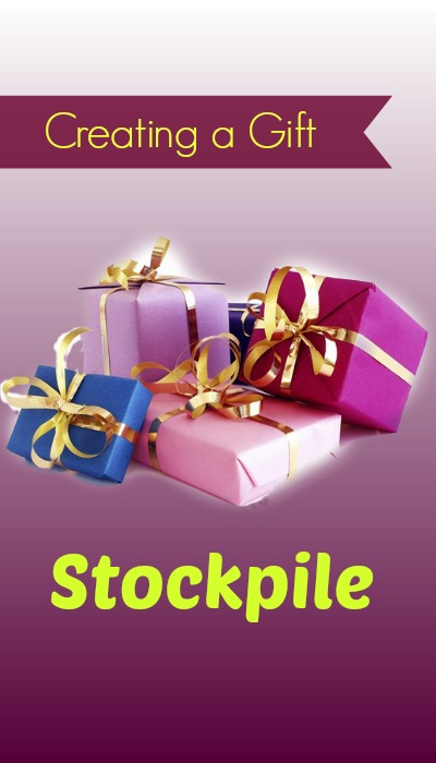 creating a gift closet or stockpile