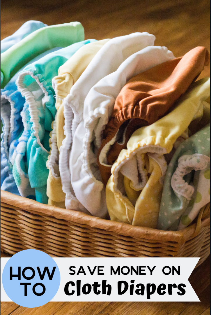 You can get disposable diapers cheaply with coupons, but cloth diapers are another option. I've got all you need on how to save money on cloth diapers!