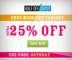 Half Off Depot Coupon