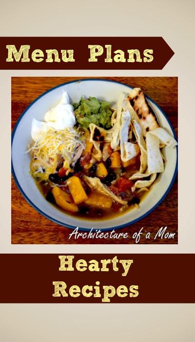weight watchers menu plan hearty recipes