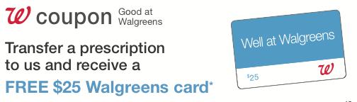 Transfer coupon walgreens