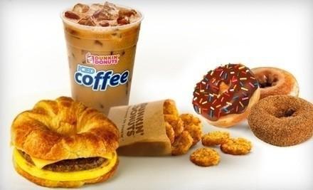 Dunkin Donuts Freebie