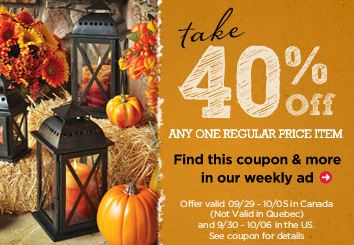 Craft Store Printable Coupons Hobby Lobby Ac Moore And Michael S