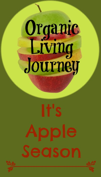 organic living journey it's apple season